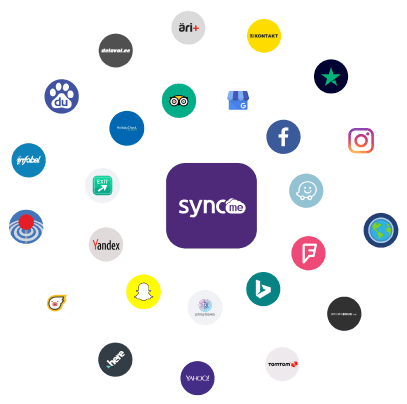 SyncMe platvormi kanalid