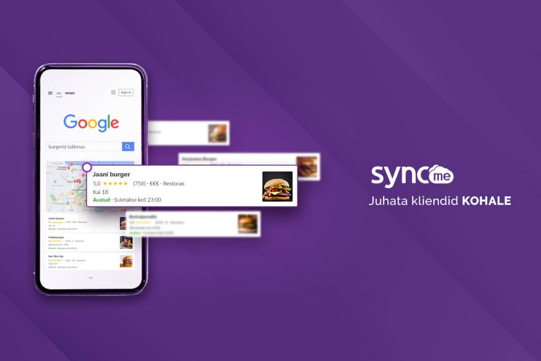Google Minu ettevõte - SyncMe