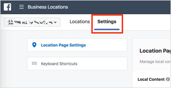 Täpsusta Facebooki asukohalehtede nähtavuse ja sisu seadeid